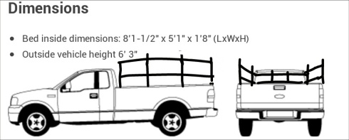 pick-up-truck-dimensions