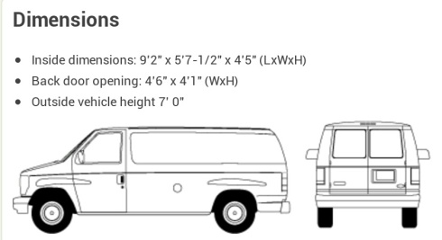 van-dimensions
